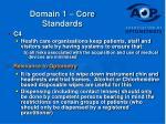 domain 1 core standards19