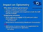 impact on optometry