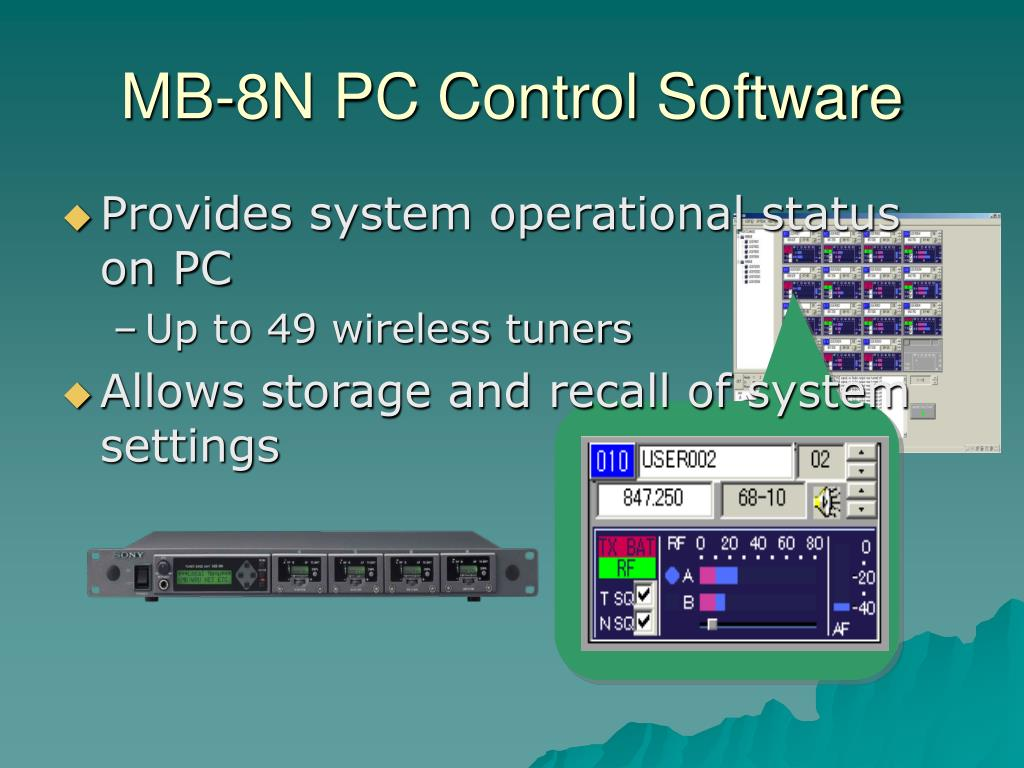 MB-8N PC Control Software