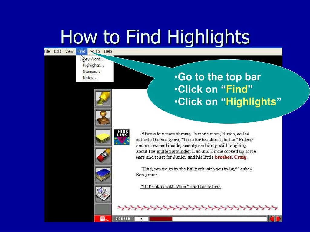 How to Find Highlights