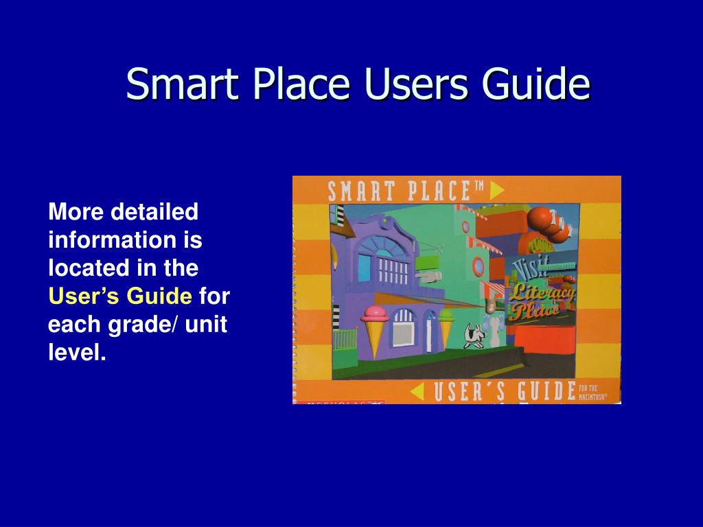 Smart Place Users Guide
