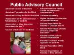 public advisory council