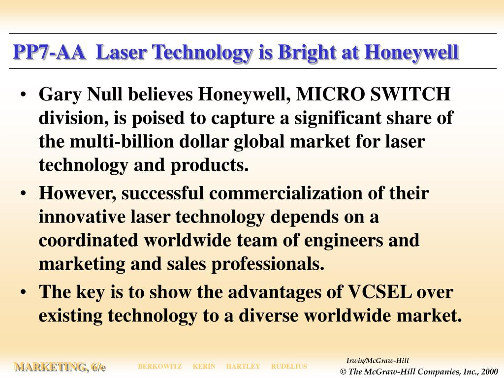 PP7-AA  Laser Technology is Bright at Honeywell