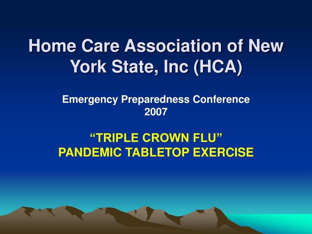 home care association of new york state inc hca l.