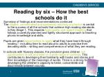 reading by six how the best schools do it7