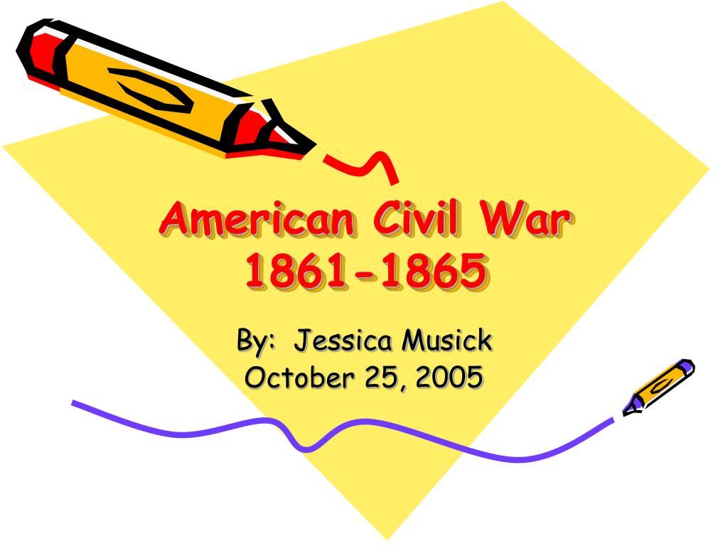 american civil war 1861 1865 l.