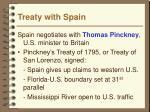 treaty with spain