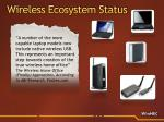 wireless ecosystem status5