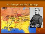 3c farragut and the mississippi