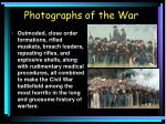 photographs of the war