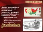 lincoln s election