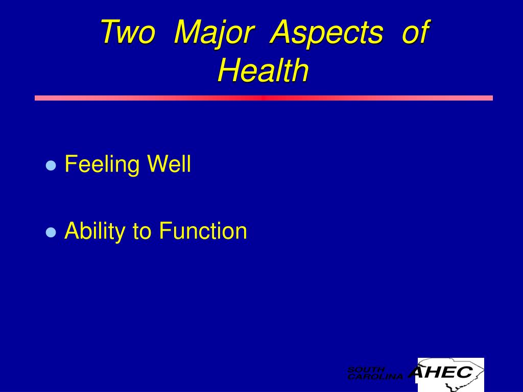 Two  Major  Aspects  of