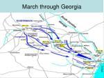 march through georgia