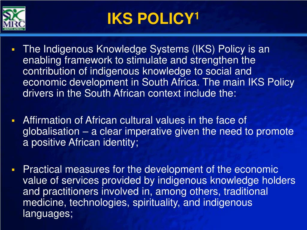 IKS POLICY