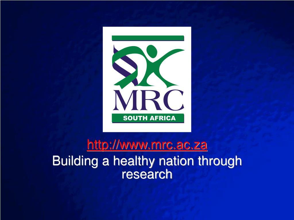 http://www.mrc.ac.za