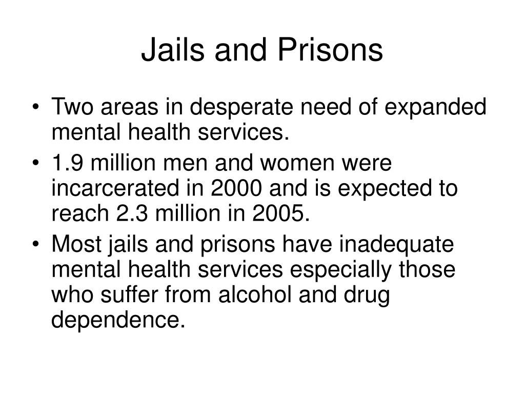 Jails and Prisons