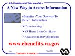 a new way to access information