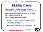 eligibility criteria96