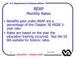 reap monthly rates