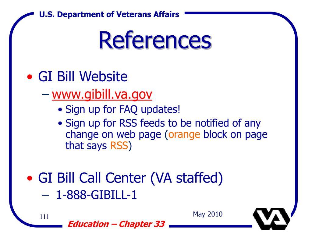 GI Bill Website