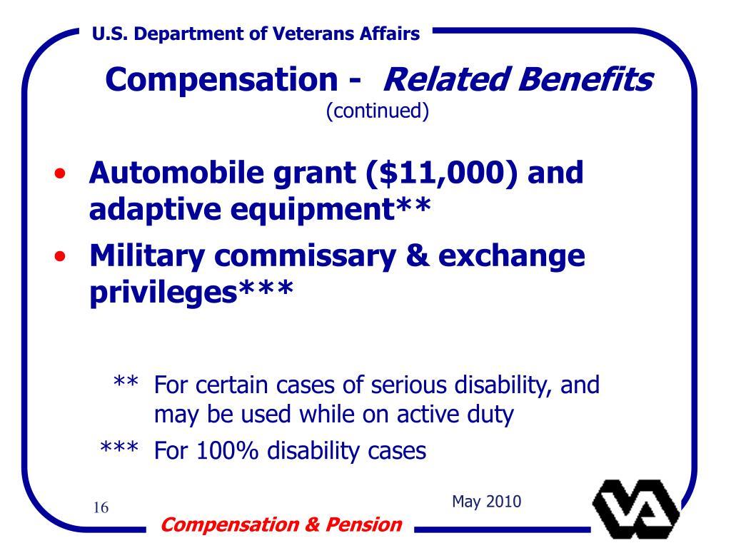 Compensation -