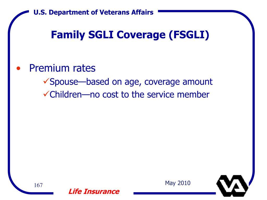 Family SGLI Coverage (FSGLI)