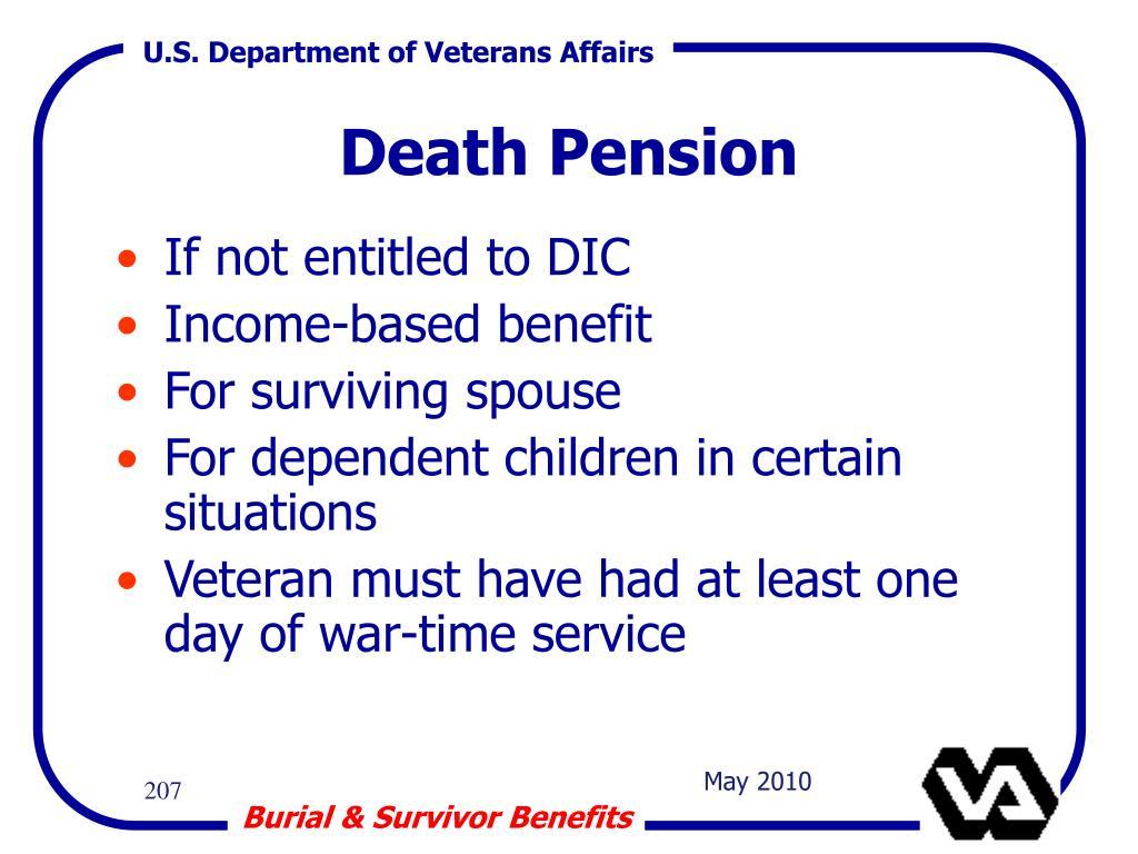 Death Pension