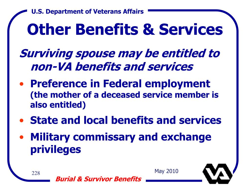 Other Benefits & Services