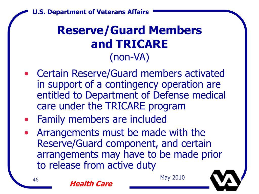 Reserve/Guard Members