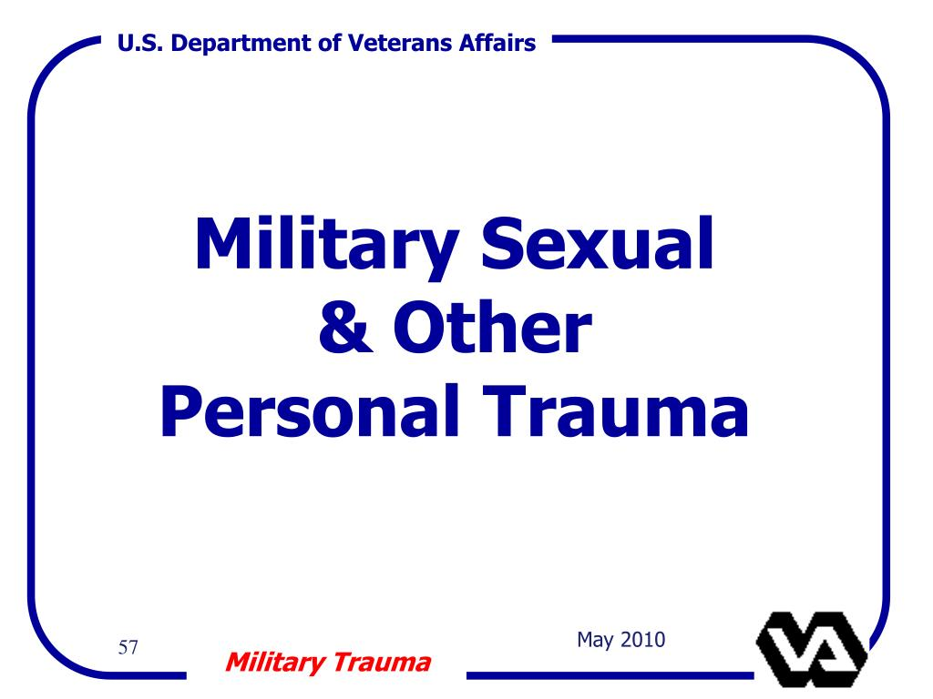Military Sexual