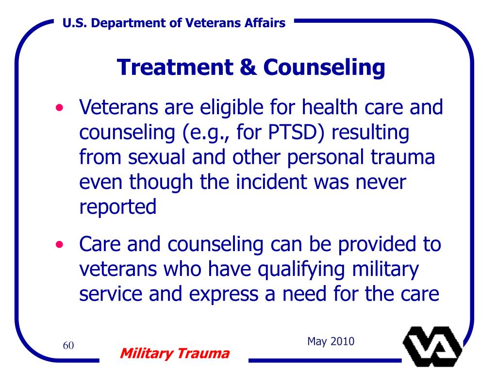 Treatment & Counseling
