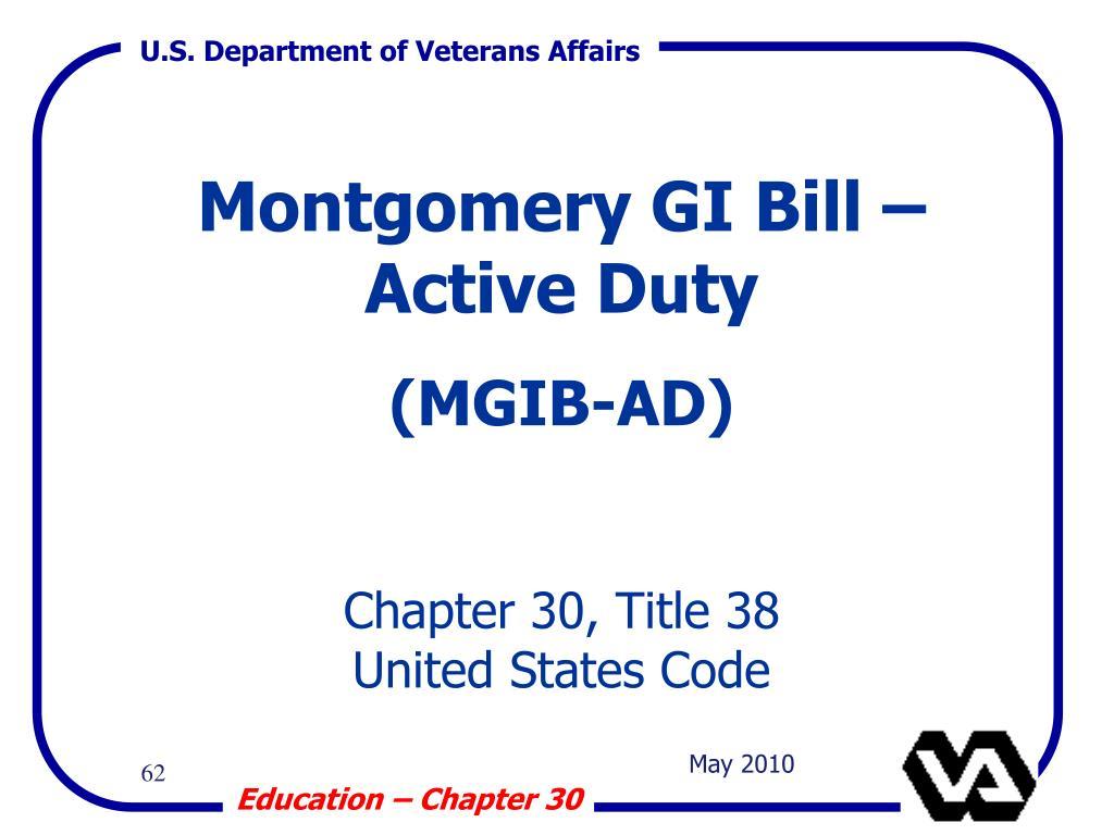 Montgomery GI Bill – Active Duty