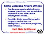 state veterans affairs offices