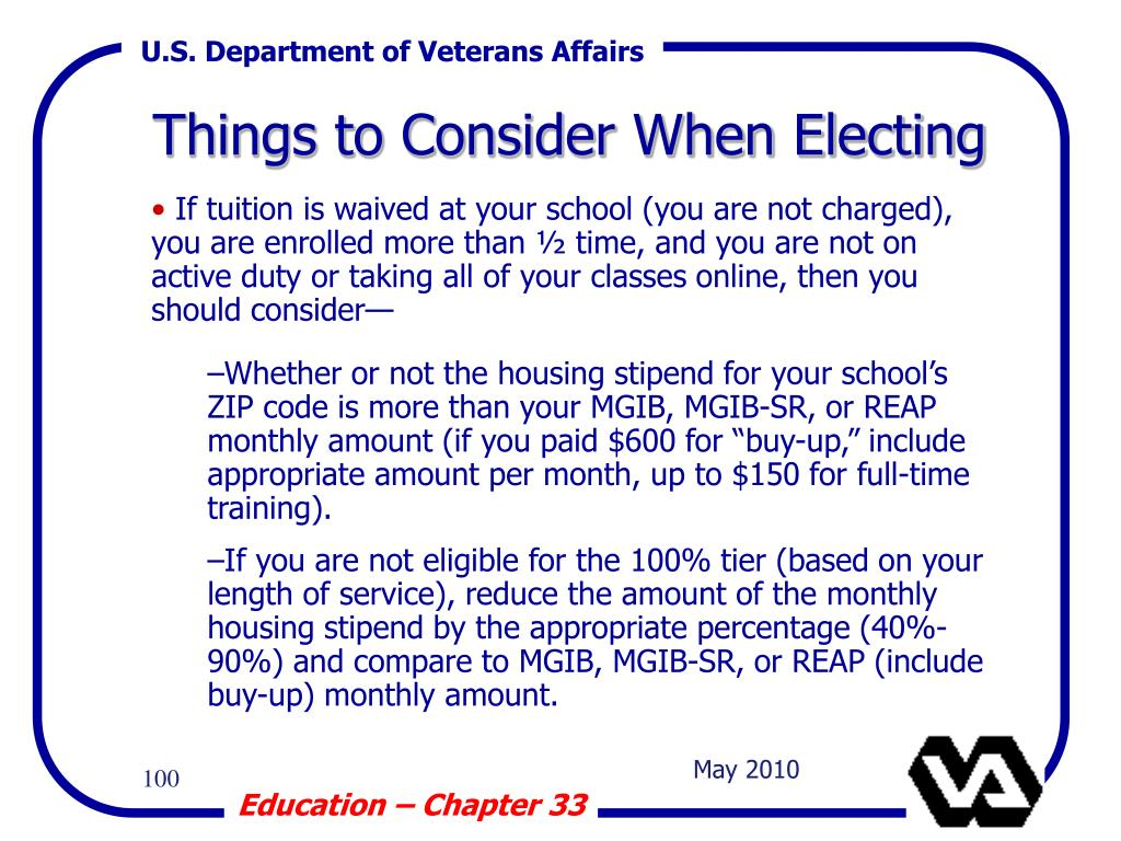 Things to Consider When Electing