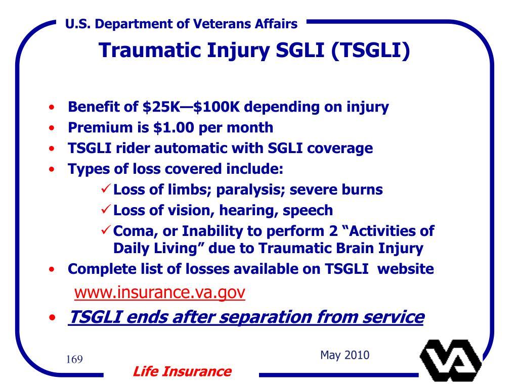 Benefit of $25K—$100K depending on injury