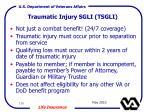traumatic injury sgli tsgli170
