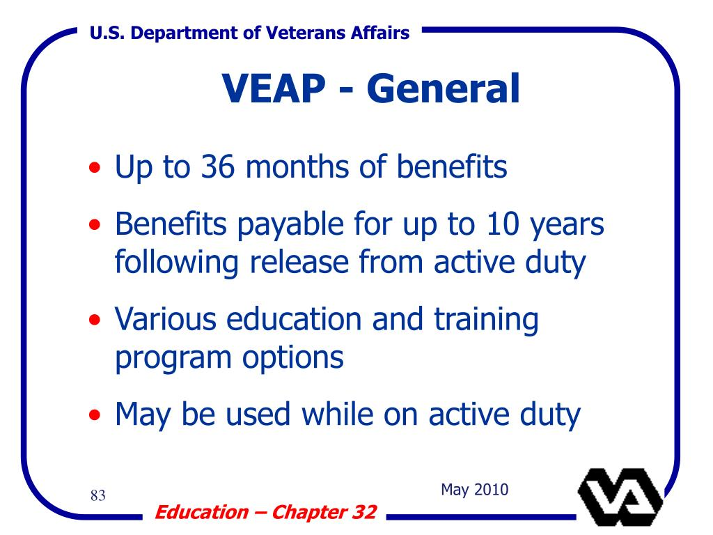 VEAP - General