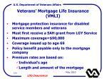 veterans mortgage life insurance vmli