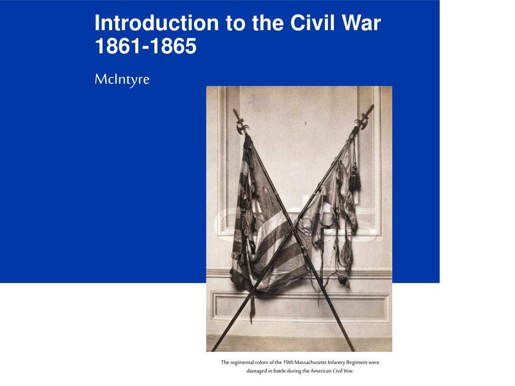 introduction to the civil war 1861 1865 l.