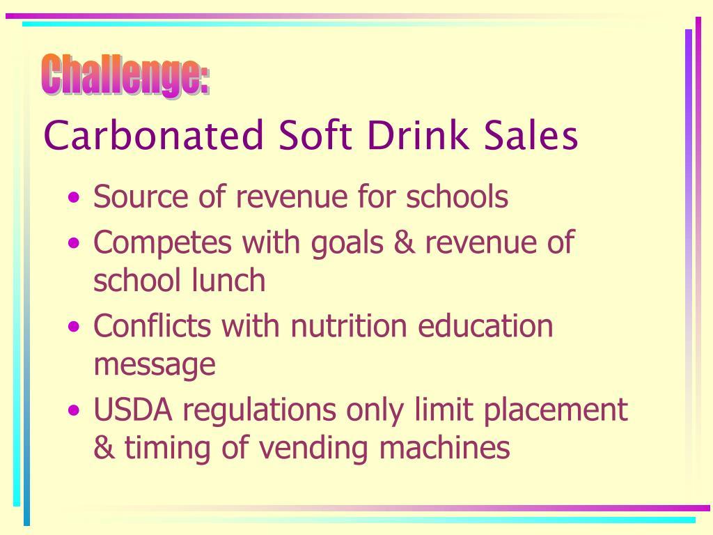 Carbonated Soft Drink Sales