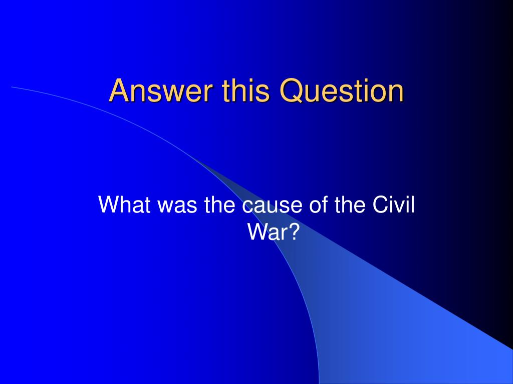 Answer this Question