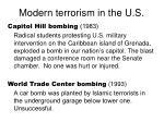 modern terrorism in the u s11