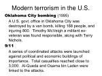 modern terrorism in the u s12