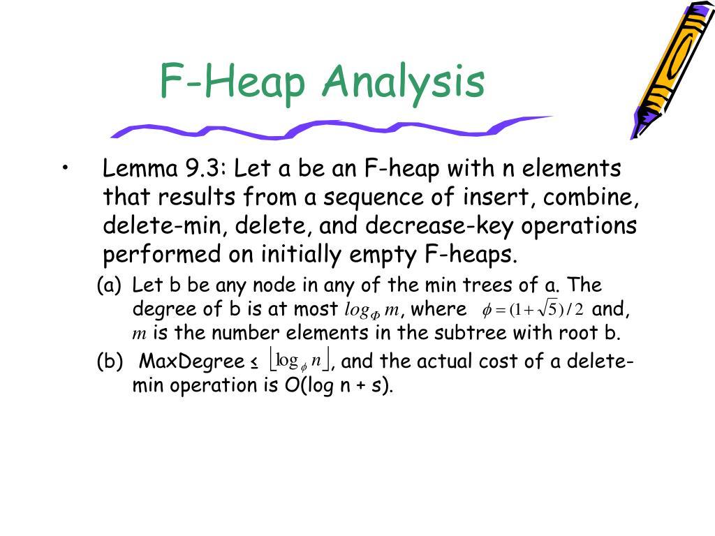 F-Heap Analysis