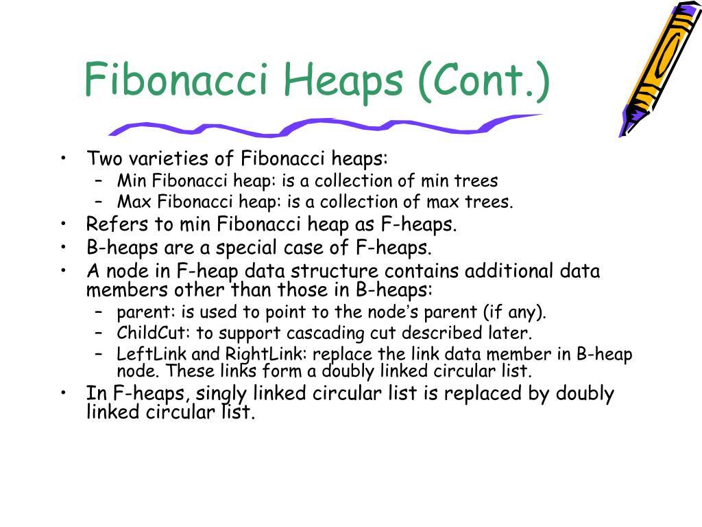 Fibonacci Heaps (Cont.)