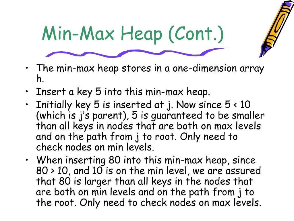 Min-Max Heap (Cont.)