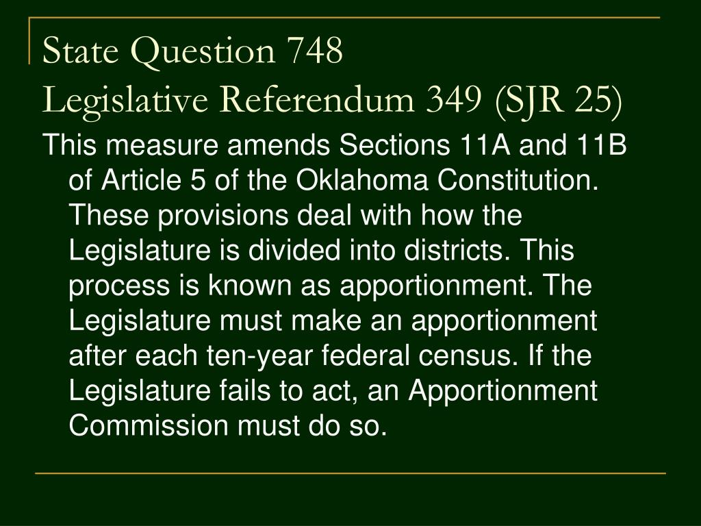 State Question 748