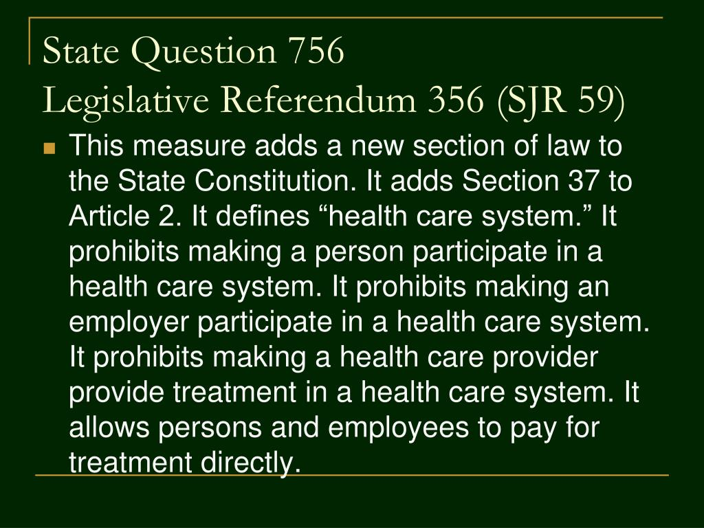 State Question 756