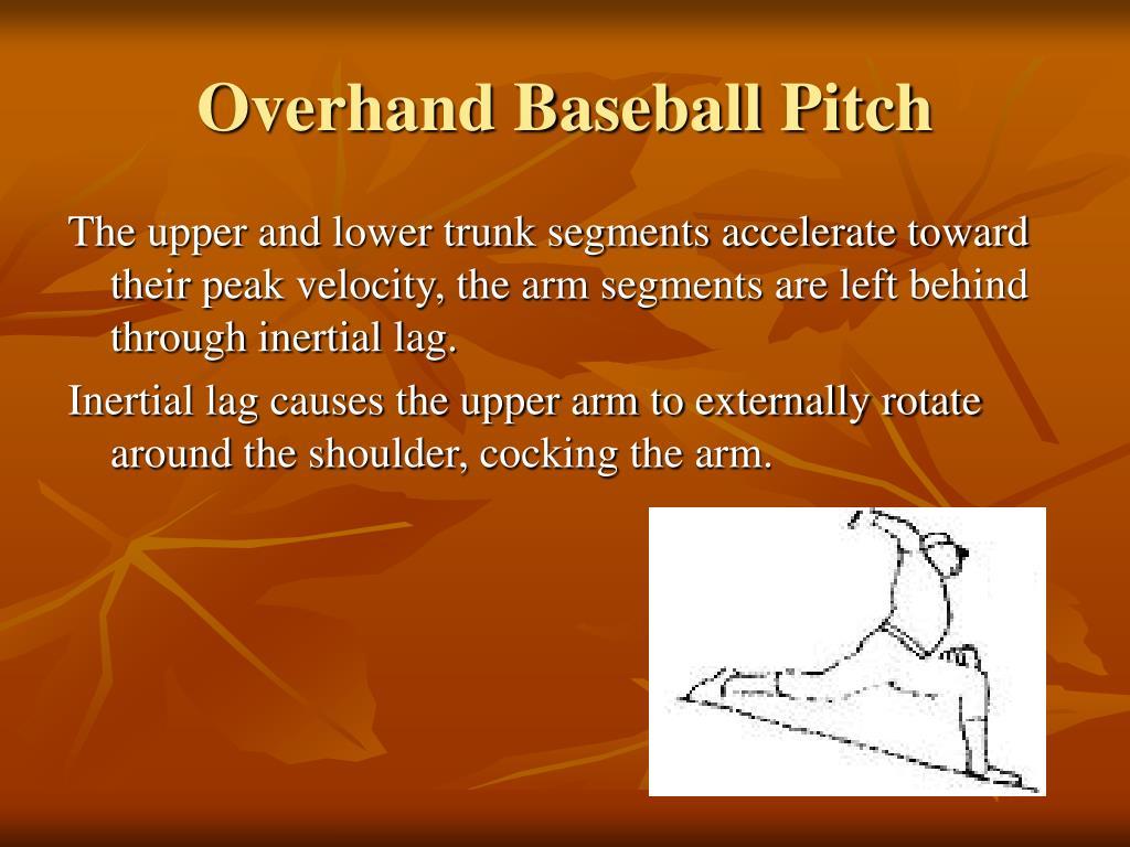 Overhand Baseball Pitch