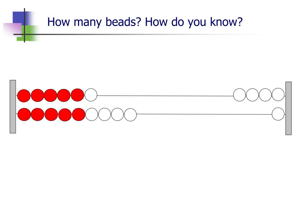 How many beads? How do you know?